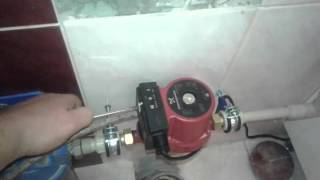 видео насос для повышения давления воды