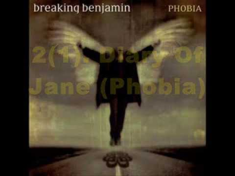My Top 40 BREAKING BENJAMIN Songs (2014)