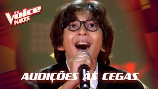 Davi Lucas canta 'Into The Unknown' nas Audições às Cegas – 'The Voice Kids' | 6ª Temporada