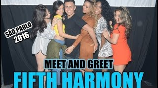PEGUEI NA BUNDA DA DINAH ( Meet and Greet - Fifth Harmony 2016 )