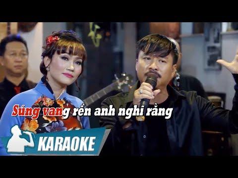 [KARAOKE] Em Hậu Phương Anh Tiền Tuyến - Quang Lập & Lâm Minh Thảo