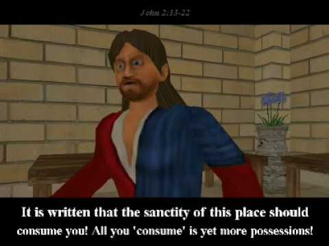 The You Testament Cleansing The Temple Youtube