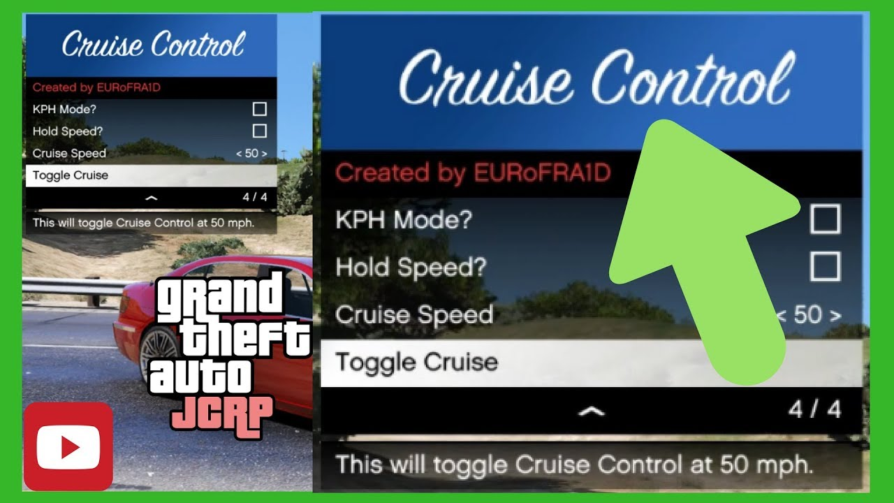 How to install a Cruise Control mod for FiveM! - Tips & Tricks