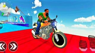Offroad Bike Racing Game : Impossible Bike Stunt 3D   Solo Bike Riding   Bike Games #6