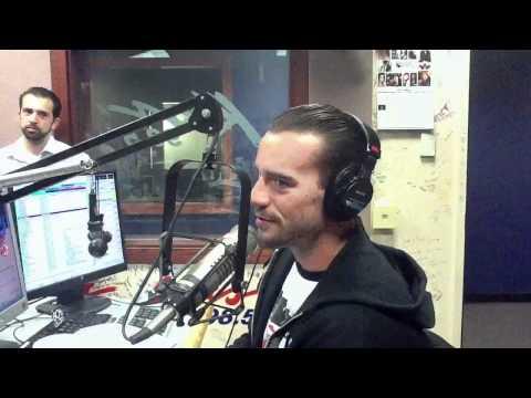 CM Punk on Kiss 98.5