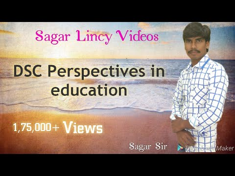 DSC PERSPECTIVE IN EDUCATION