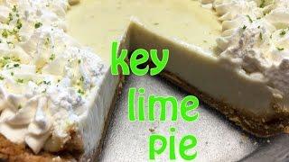 How To Make Key Lime Pie Tutorial