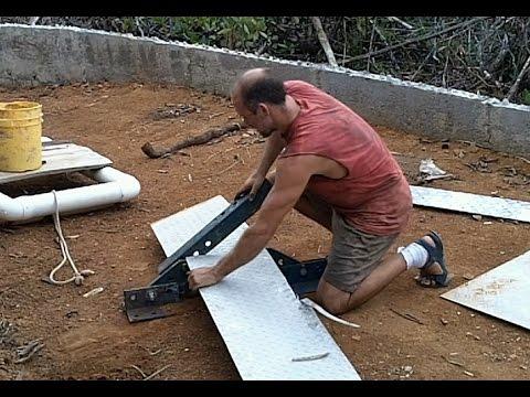 Making a Sheet Metal Shear with Scrap