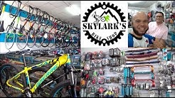 Skylark's Bike Shop Visit