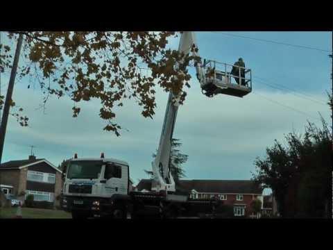 WUMAG 45m Truck Mount Access Platform