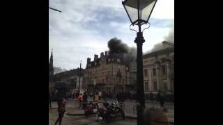 Fire at The Randolph Hotel, Oxford