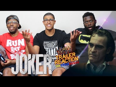 Joker Trailer #1 Reaction