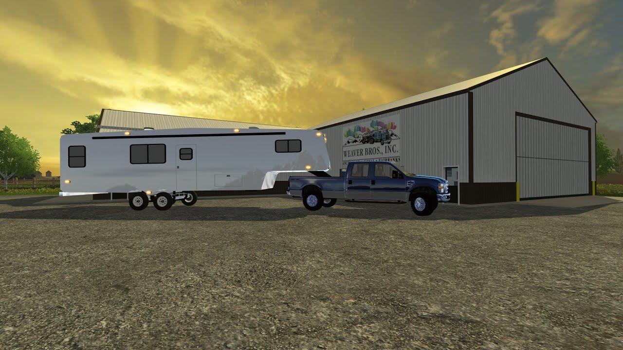 Farming Simulator 15 Mod Talk 5th Camper Youtube