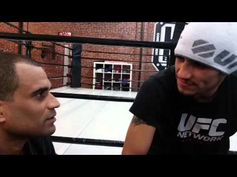 "Renato Laranja Interviews Tony ""El Cucuy"" Ferguson At HQ Brand/10th Planet HQ"