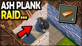 The ASH PLANK RAID (unbelievable...) - Last Day on Earth Survival