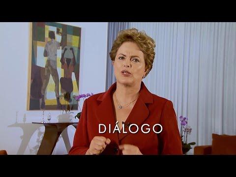 Em vídeo, Dilma fala sobre salário mínimo, terceirização e protestos
