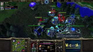 Happy(UD)(Red) vs Infi(UD)(Blue) - Warcraft 3: Reforged (Classic) - RN4383