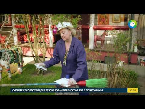 Cмотреть видео Оригинальные идеи для дачи украшаем садовый инвентарь.