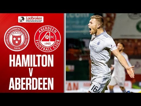 Hamilton 0-3 Aberdeen | Cosgrove Double as Dons Breeze Past Accies | Ladbrokes Premiership