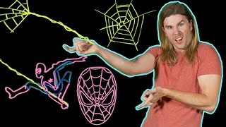 Could Spider-Man Swing on Actual Spider Silk? (Because Science w/ Kyle Hill)