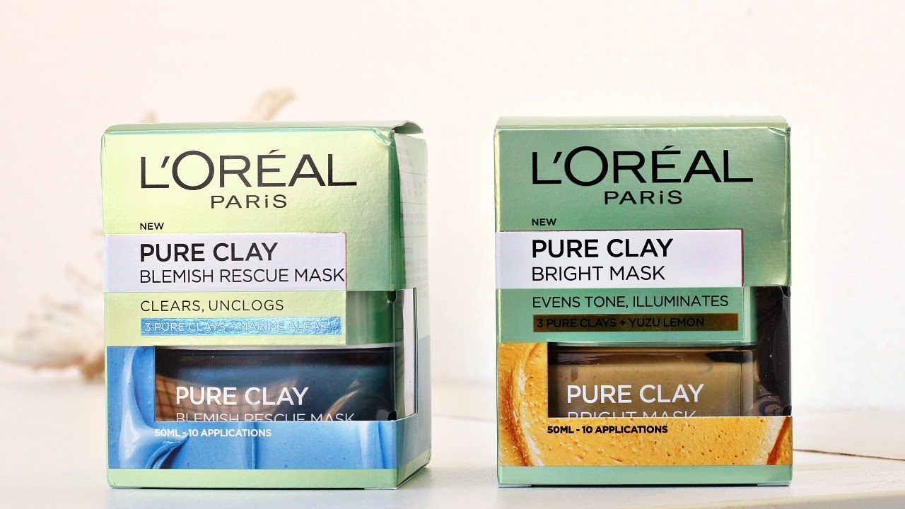 l oreal pure clay bright mask how to use