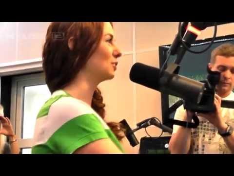 Lena Katina - On Air @ Radio NRG (Black2White Show)