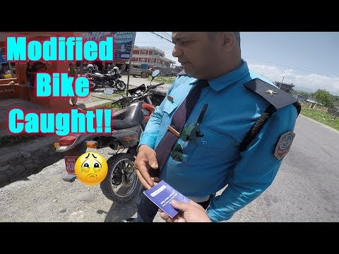 RIDE TO POKHARA | MODIFIED BIKE CAUGHT BY  TRAFFIC | TRAVEL VLOG | MOTOVLOG