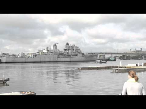 Ex-USS Barry Removal From Washington, DC