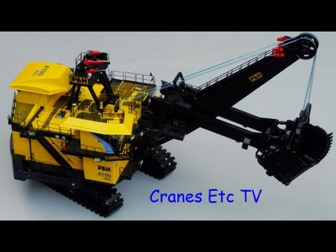 TWH P&H 4100XPC Mining Shovel By Cranes Etc TV