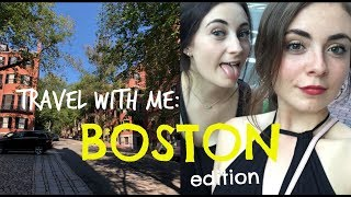 Day to Day in Boston!!  Travel with Me: Photographing a Wedding!
