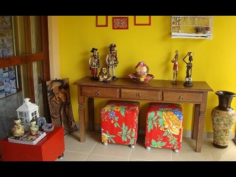 Ideias para decorar a casa com estilo nordestino youtube - Cosas rusticas para decorar casa ...
