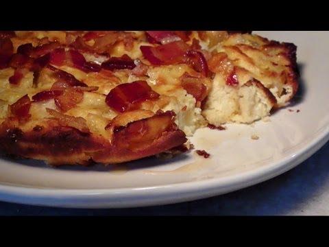 Apple Bacon Dutch Baby Gluten Free Grain Free