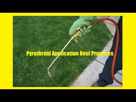 Pyrethroid Application Best Practices