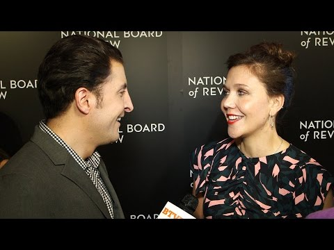 Maggie Gyllenhaal at the National Board of Review Gala Behind The Velvet Rope