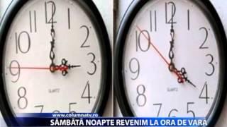 SAMBATA NOAPTE REVENIM LA ORA DE VARA (Columna Tv)