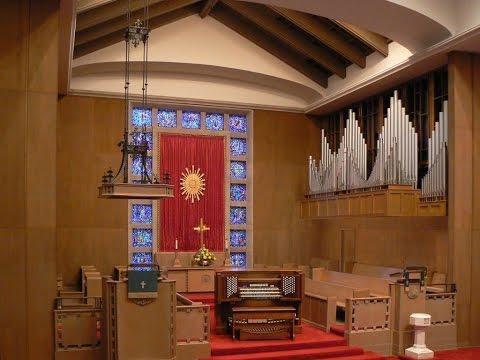 Reuter Pipe Organ - First Presbyterian Church Royal Oak, MI
