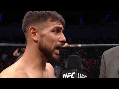 UFC Mexico City: Yair Rodriguez Octagon Interview