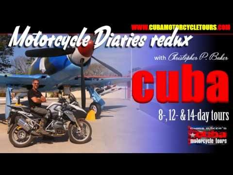 Cuba motorcycle tours with motojournalist and celebrity biker Christopher P Baker