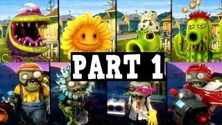 Plants vs. Zombies: Garden Warfare PC - Gameplay Part 1