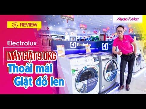 Máy giặt 9 Kg Electrolux EWF9025BQSA Inverter - Giặt hơi nước, chống nhăn quần áo