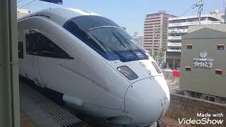 885系SM1 特急かもめ12号博多行 長崎本線佐賀駅発車