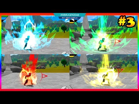 💛 ALL Transformation SSJ GOD, BLUE, GREEN 💛 Power Level Warrior APK#3   Best Gaming Android #FHD