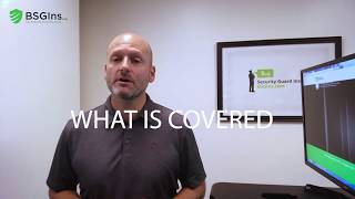What's Covered Under General Liability Insurance for a Security Guard Company?