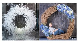 Сборка и декор круглой арки