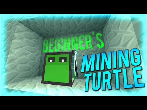 Tekkit Tutorial: How To Use A Beginner's Mining Turtle (Tekkit Legends)