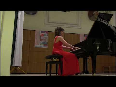 Blandine Waldmann plays RACHMANINOV Etude-Tableau opus 39 n°1