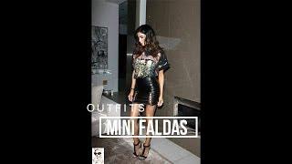 OUTFITS CON MINI FALDAS DE MODA 2018