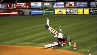 Richmond Flying Squirrels Human Cannonball
