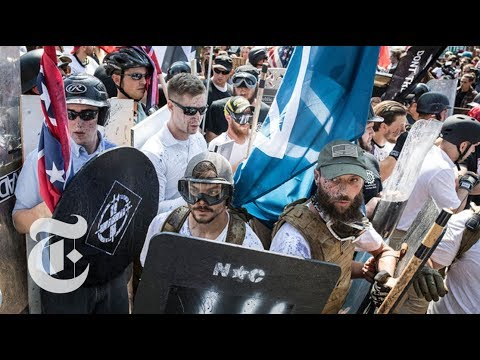 Branding Hate in Charlottesville: Swastikas, Shields and Flags | The New York Times