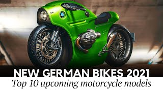 10 New German Motorcycles In 2021 A Display Of Bmw Motorrad S Domination Youtube
